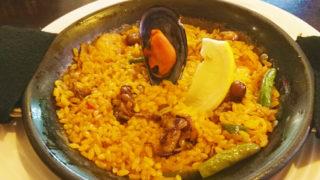 赤羽スペイン料理TERATERAのパエリアランチ