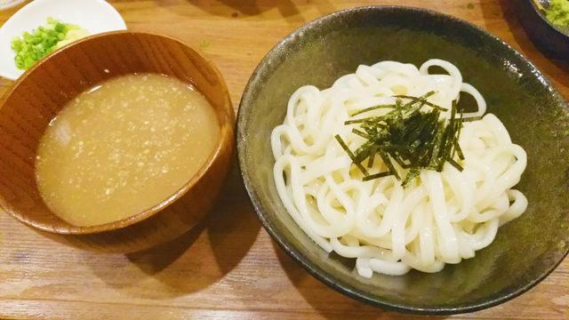 """赤羽海鮮居酒屋""""雅流天晴""""の水沢うどん"""