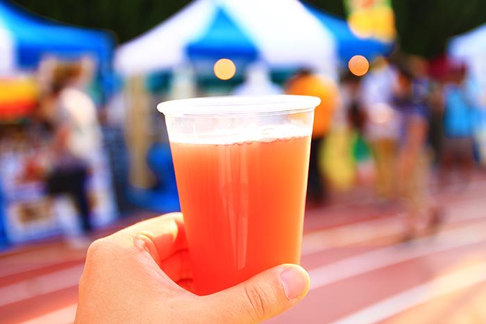 羽納涼フェスタで飲んだクラフトクラフトのビール
