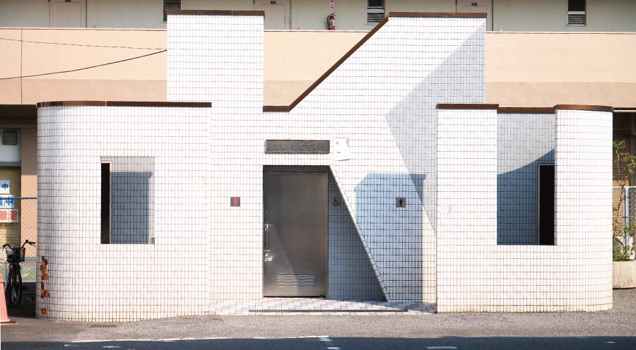 尾久駅の公衆トイレ