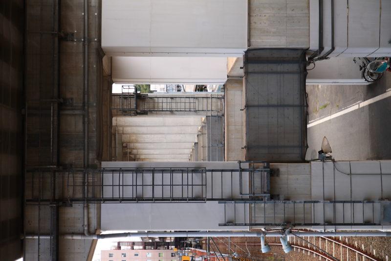 十条駅から見た風景