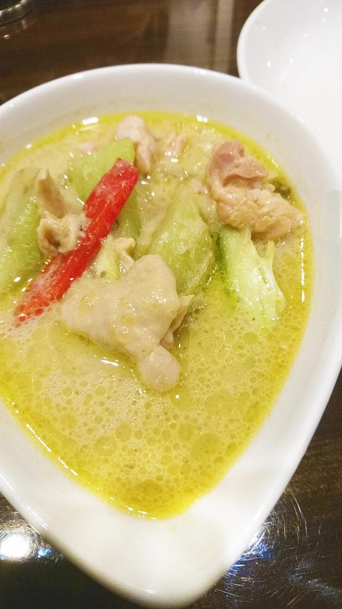 タイ料理赤羽PAPAYAのグリーン・カレー