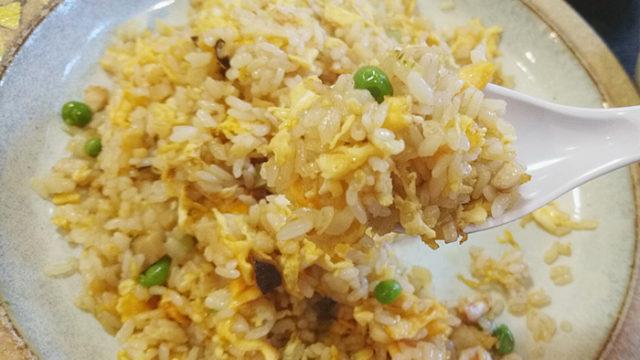 北区十条の大吉飯店の揚州炒飯