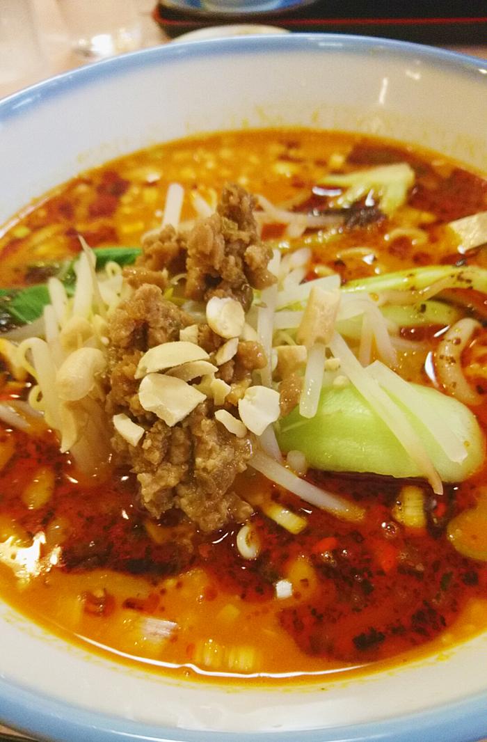十条の大吉飯店の担々麺