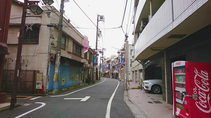 志茂の平和通り