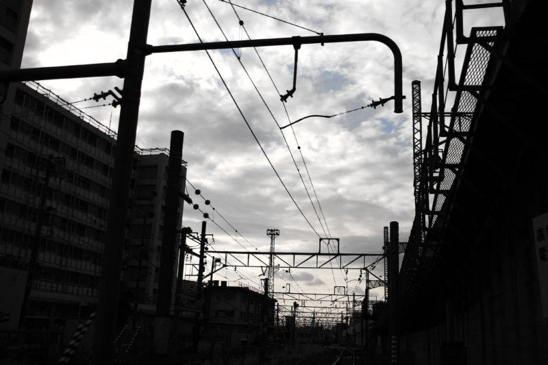 田端の線路