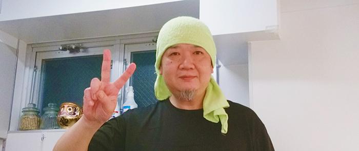 尾久駅の中華そば竹千代の店長さん