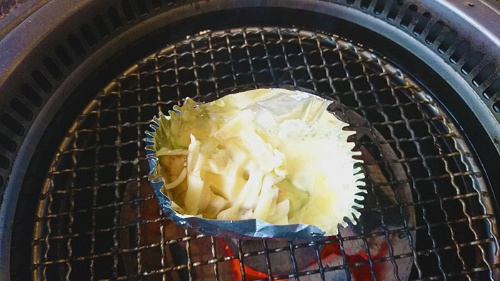 なか畜産東十条店のアボカドチーズバター