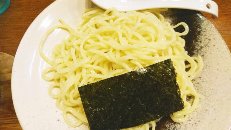 十条てんげんの肉つけ麺の麺