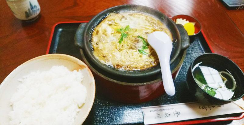 王子の登喜川さんのうなぎ柳川風定食