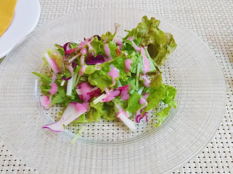 赤羽岩淵Trattoria Saliceのランチサラダ