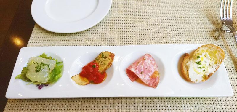赤羽岩淵Trattoria Saliceの前菜