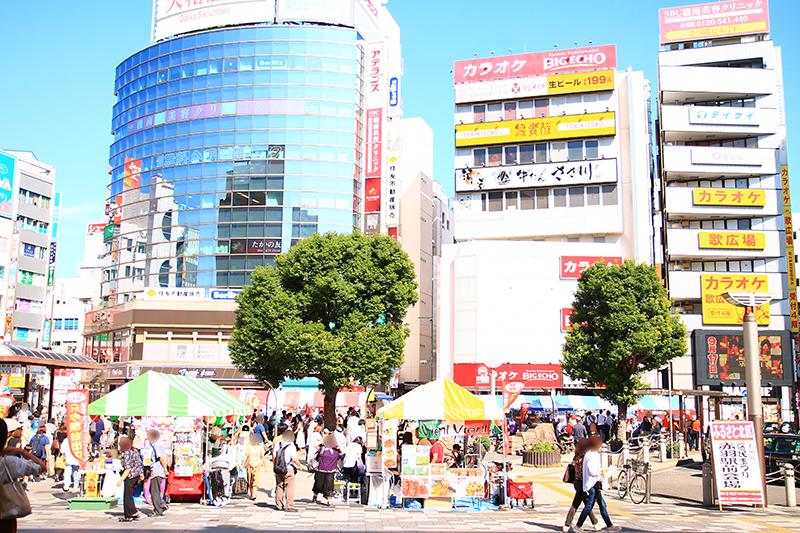 ふるさと北区区民まつりJR赤羽駅東口駅前広場