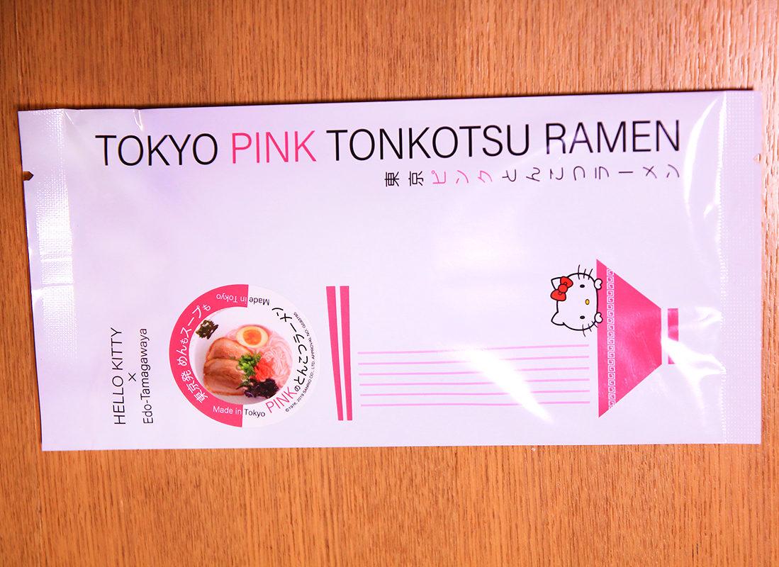 東京ピンクとんこつラーメン