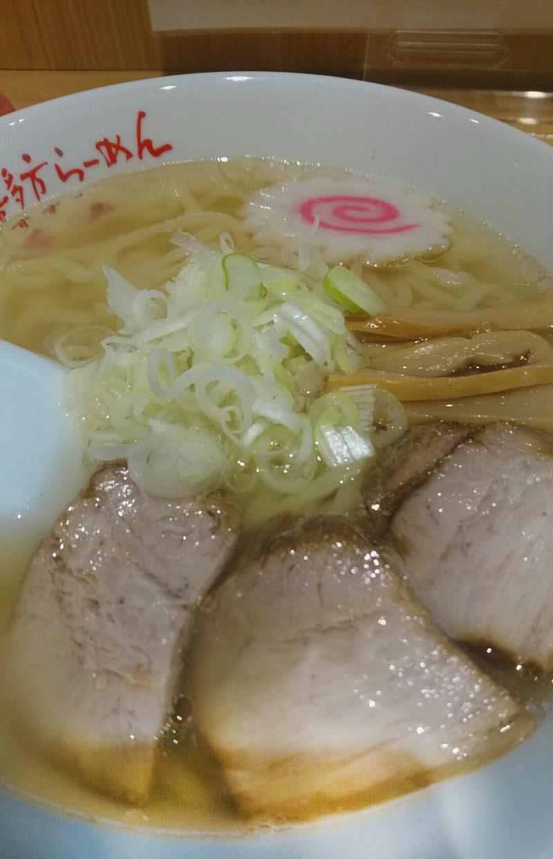 十条の會津・喜多方ラーメンの愛絆の山塩ラーメン