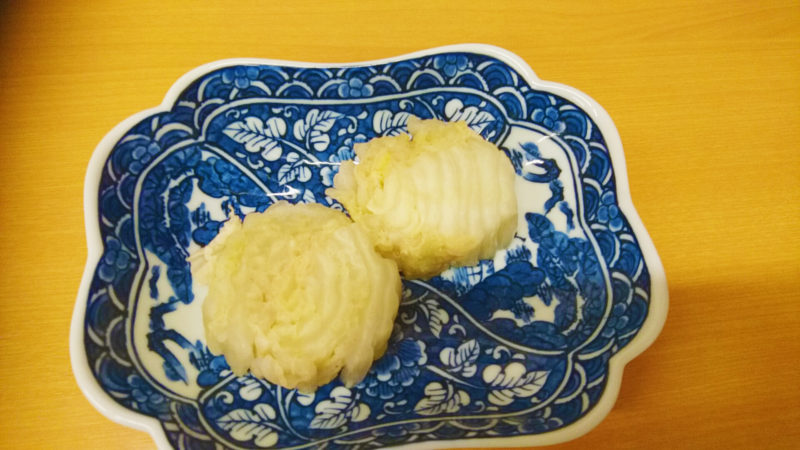 赤羽三忠食堂の白菜