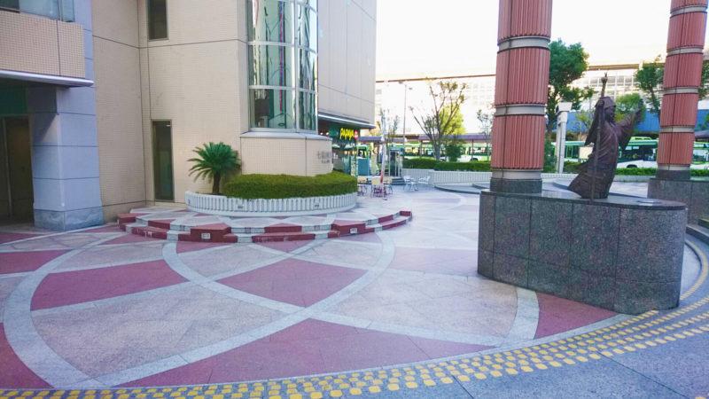 赤羽ビビオの七福神広場