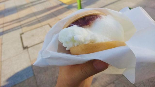 天然鯛焼の鳴門鯛焼本舗赤羽駅前店のアイスもなか