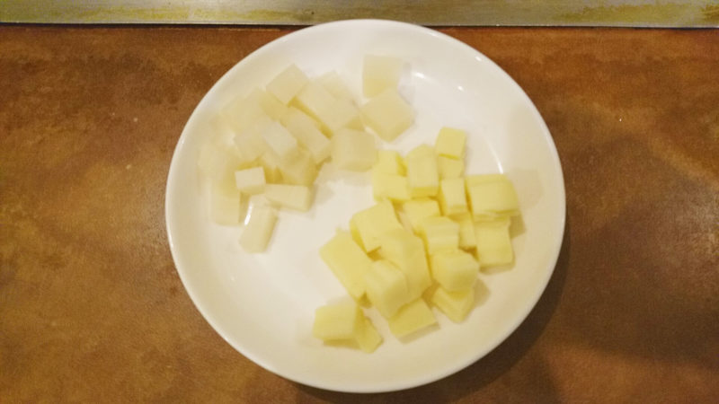 チーズとおもち