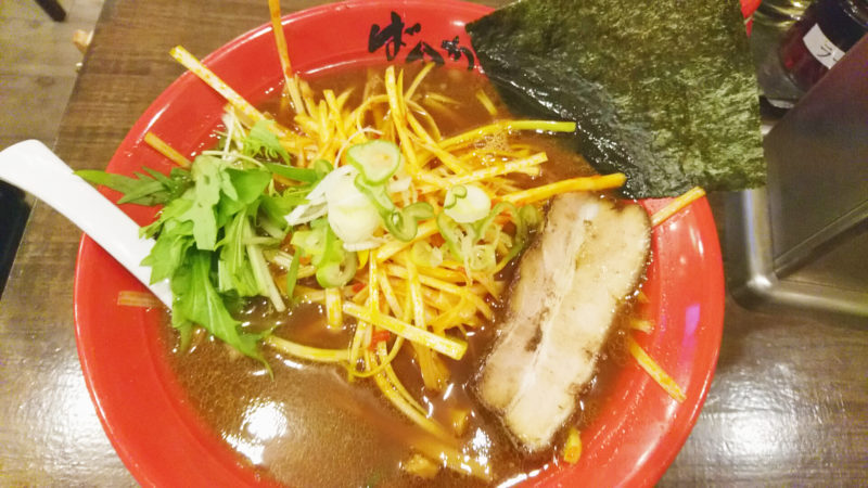 東京豚骨拉麺ばんから赤羽店辛ネギ中華そば