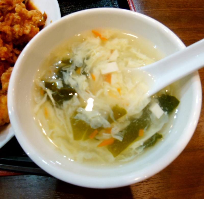 赤羽の鴻祥軒のスープ
