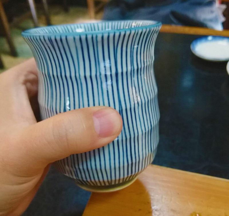 十条の竹寿司のお茶