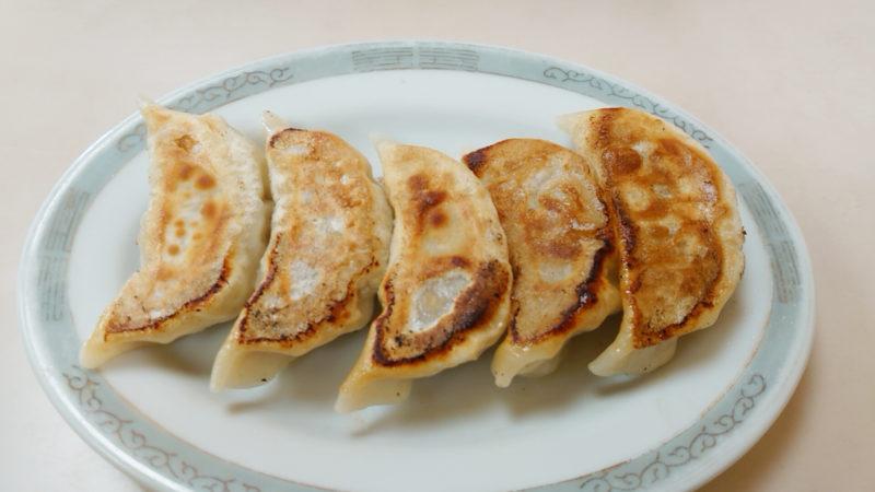 中華吉野の餃子