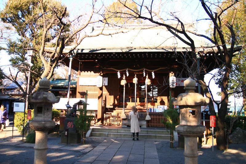 西ヶ原の七社神社
