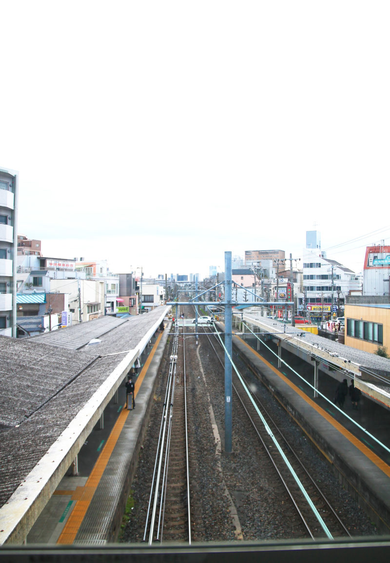 十条駅からの風景