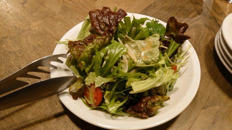 肉酒場Grill-Griller-Grillestのグリーンサラダ