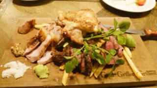 肉酒場Grill-Griller-Grillestのメインの盛り合わせ
