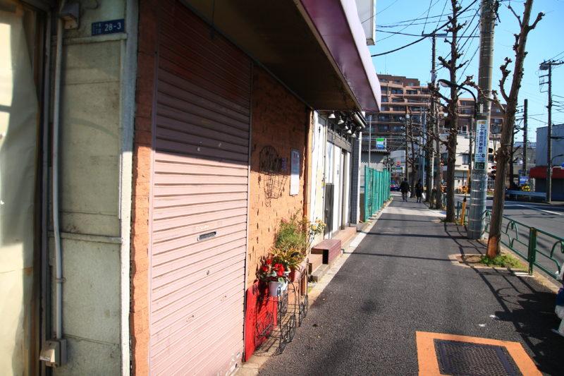 十条西口再開発に伴う街の様子