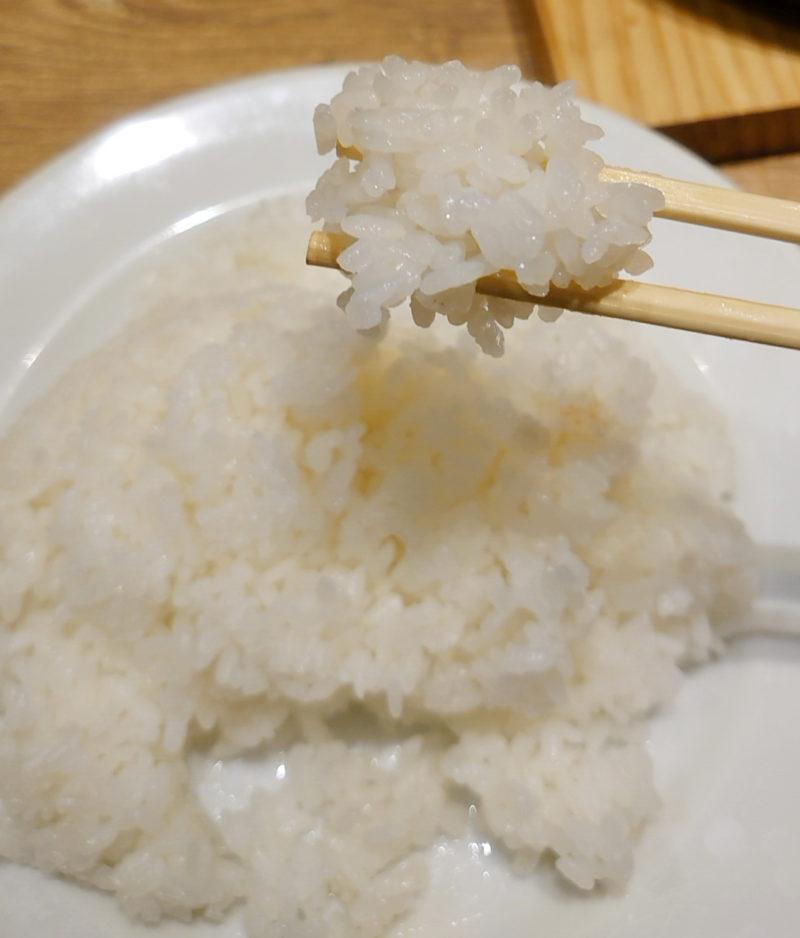 神田の肉バルRUMP CAP 赤羽店のMIXステーキのごはん