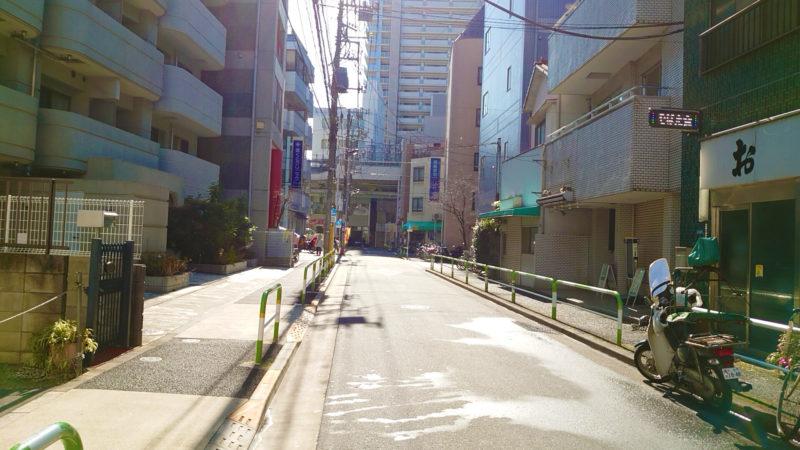 赤羽増田屋への道