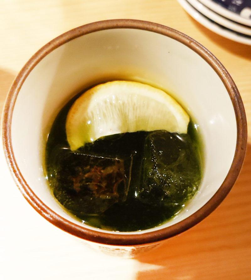 宇治茶レモンサワー