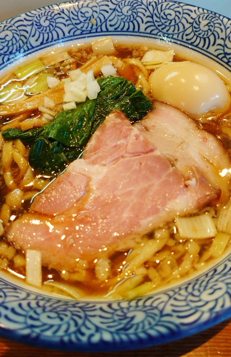 「麺処 ほん田」手揉み中華蕎麦 醤油