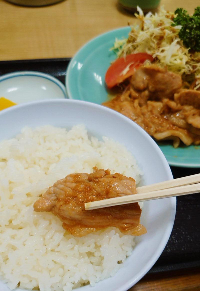 動坂食堂の生姜焼き定食