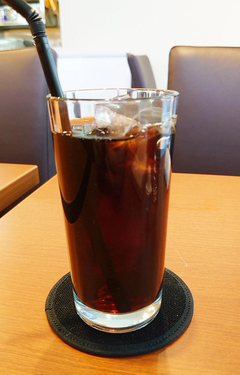 ROOTS CAFEアイスコーヒー