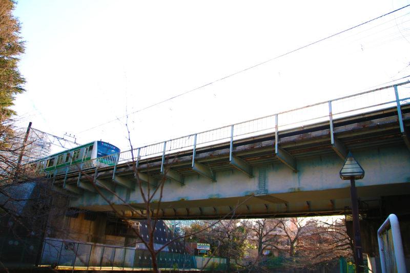 石神井川 埼京線付近