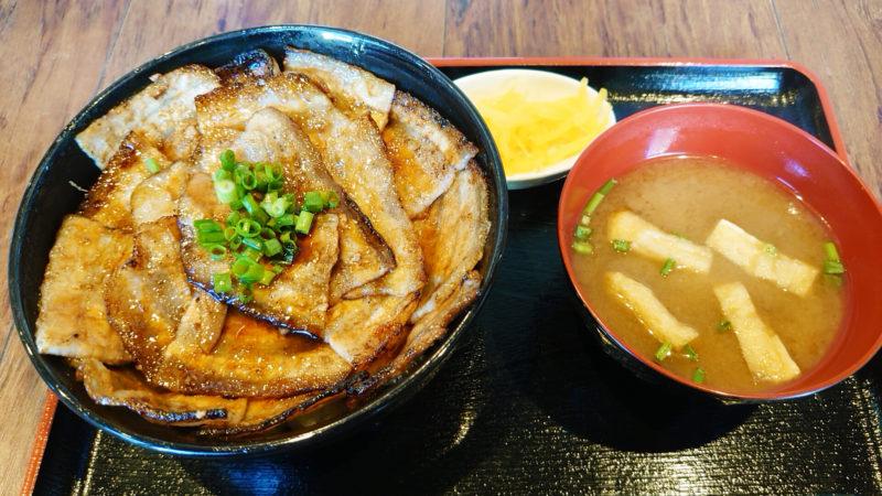 三〇食堂の豚丼