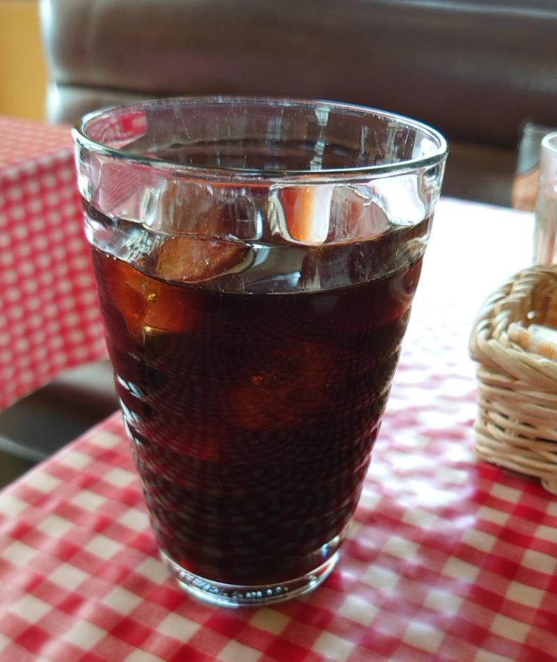 王子 赤いどうくつ アイスコーヒー