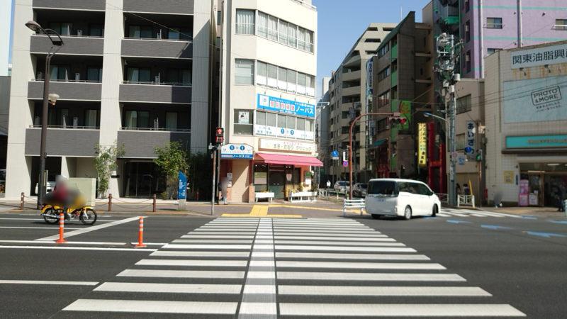 JR王子駅から梅の家への行き方