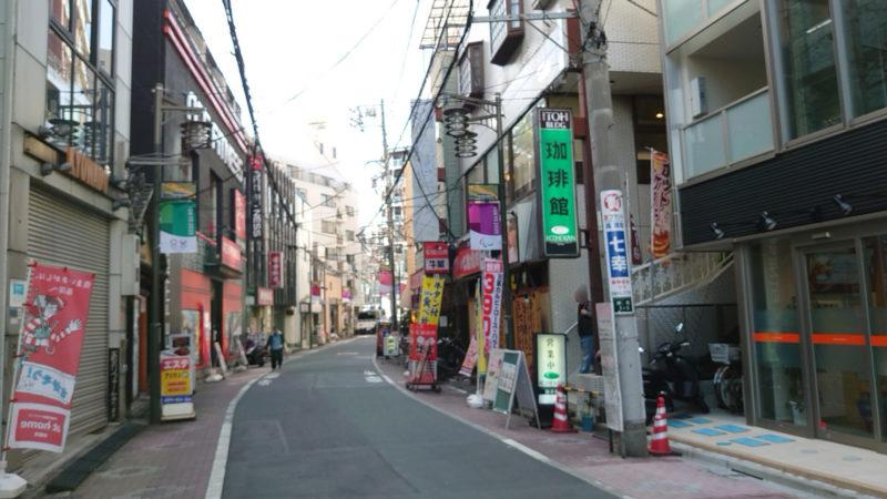 JR王子駅から石鍋商店への行き方
