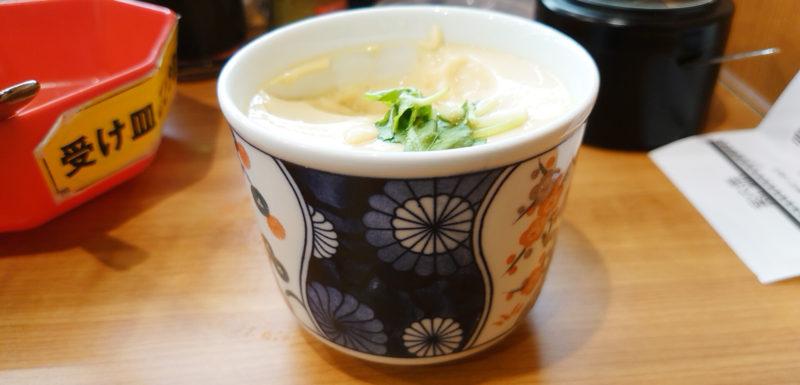 くら寿司の茶碗蒸し