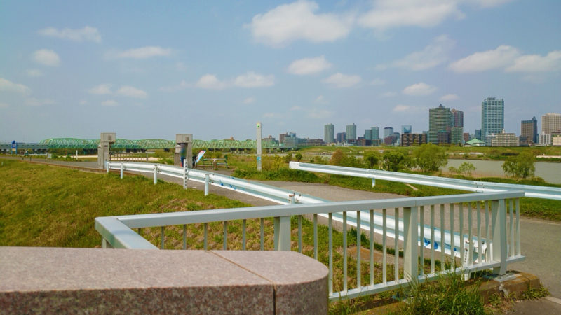 赤羽岩淵駅から荒川赤羽桜堤緑地への行き方