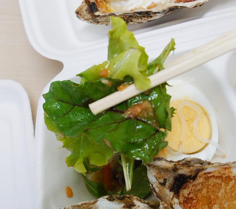 北の国バル赤羽店 カキのコロッケ弁当
