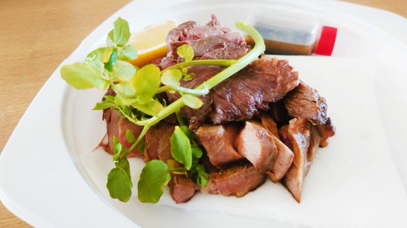 大衆肉ビストロ Lit ステーキ2種盛合わせ