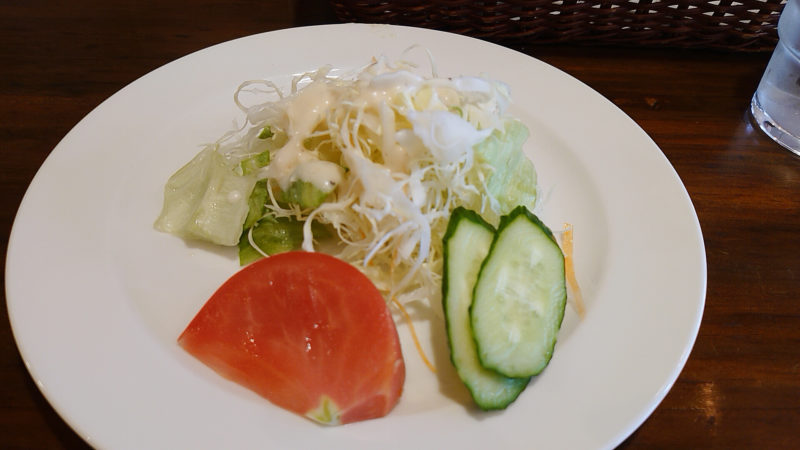 ぱすた屋プランザーレ サラダ