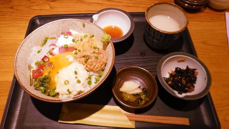キンクラ 十条店 海鮮ばくだん納豆丼