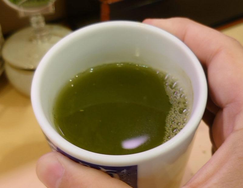 十条 だんしゃく寿司 お茶